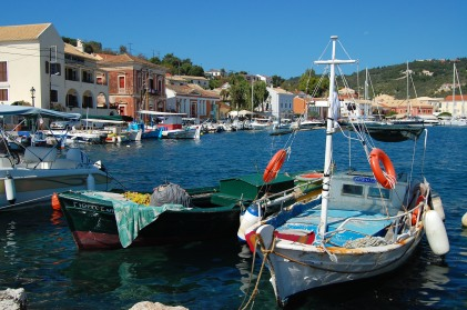 View on Gaios' harbour